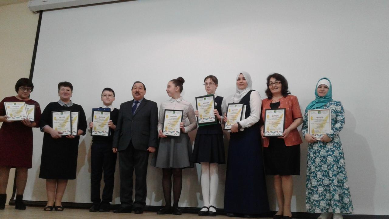 Мөслимдә Факил Сафин исемендәге «Серле каләм-2019» иҗат конкурсында җиңүчеләрне бүләкләү